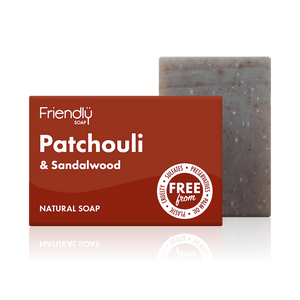 Friendly Soap soap bar Patchouli and sandalwood