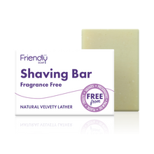 Load image into Gallery viewer, Friendly Soap shaving bar unfragranced
