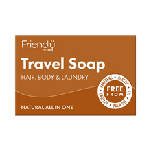 Load image into Gallery viewer, Friendly Soap travel soap bar