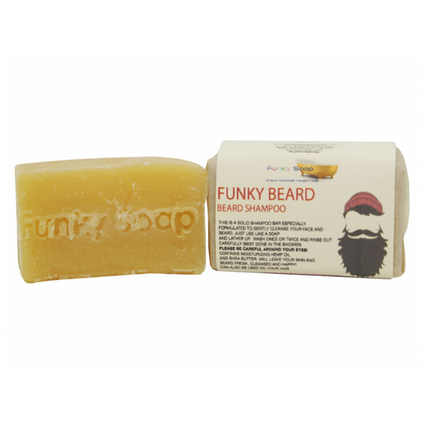 Funky beard eco-friendly shampoo
