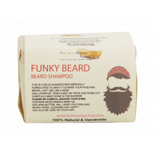 Load image into Gallery viewer, Funky beard eco-friendly shampoo