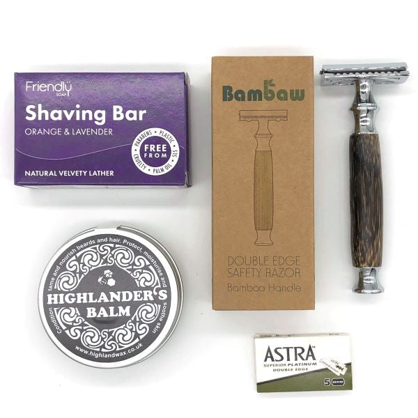 Eco-friendly gift set for men contents
