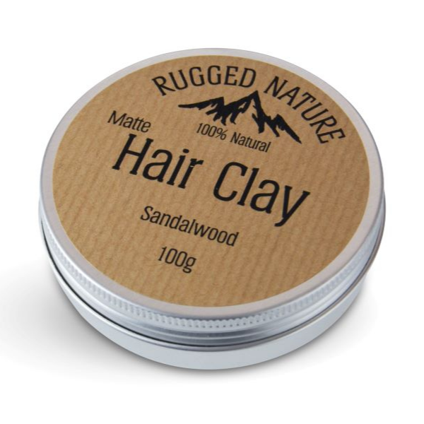 Hair clay Sandalwood
