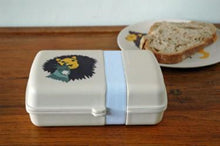 Load image into Gallery viewer, Eco friendly bamboo lunchbox lion