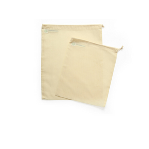 Large and medium cotton grocery bag