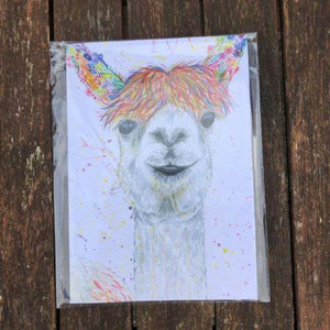 Lily the Llama eco notepad