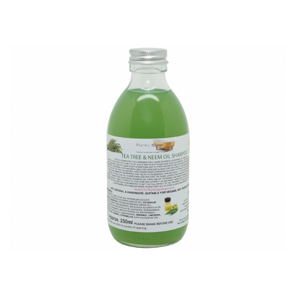 Liquid shampoo tea tree and neem