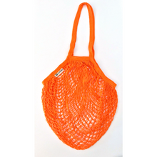 Load image into Gallery viewer, Long handled string bag orange