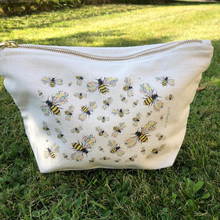 Load image into Gallery viewer, Eco mini wash bag Bee Friendly