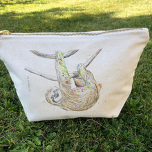 Load image into Gallery viewer, Eco mini wash bag Sophie the Sloth