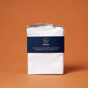 Muslin cleaning cloths
