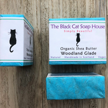 Load image into Gallery viewer, Eco-friendly Black Cat Soap House Soap bar Woodland glade