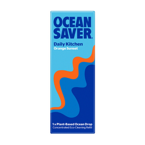 Ocean saver cleaning pod kitchen orange