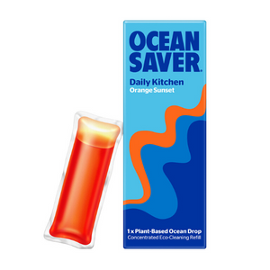 Ocean saver cleaning pod kitchen orange sunset
