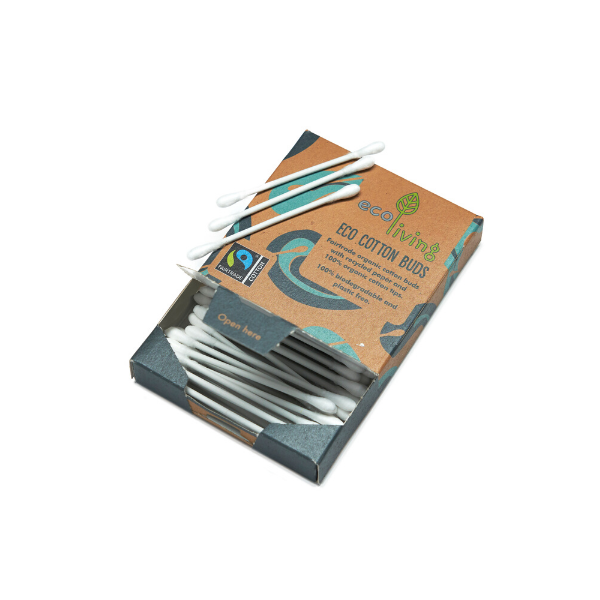 Organic fairtrade cotton buds