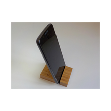 Load image into Gallery viewer, Bamboo phone holder
