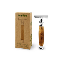 Load image into Gallery viewer, Bambaw eco-friendly safety bamboo razor