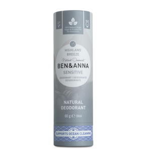 Ben and Anna natural deodorant Sensitive highland breeze