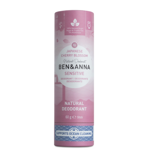 Ben and Anna natural deodorant Sensitive Japanese blossom