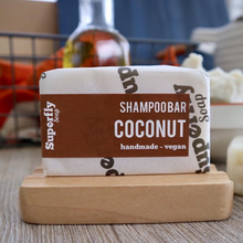 Load image into Gallery viewer, Superfly Soap shampoo bar coconut