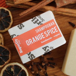 Superfly Soap shampoo bar orange spice