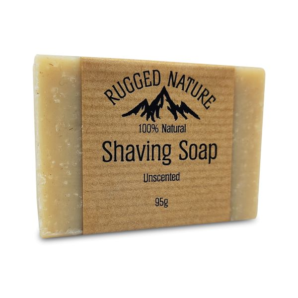 Shaving soap unscented
