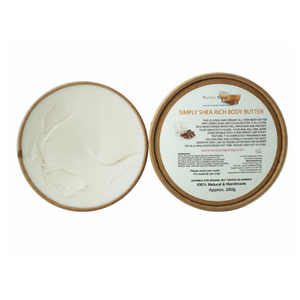 Eco-friendly body butter