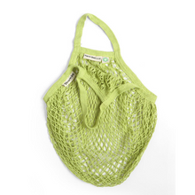 Load image into Gallery viewer, Short-handled string bag lime
