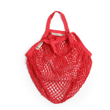 Load image into Gallery viewer, Short-handled string bag red