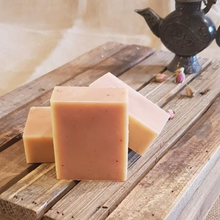Load image into Gallery viewer, The Black Cat Soap House soap bar Frankincense and tangerine