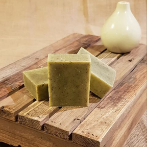 The Black Cat Soap House soap bar Nettle and mint