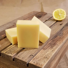 Load image into Gallery viewer, The Black Cat Soap House soap bar Zesty lemon