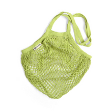 Load image into Gallery viewer, Long-handled string bag lime