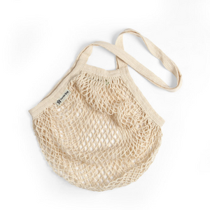 Long-handled string bag natural
