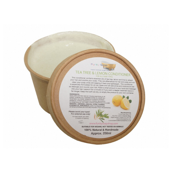 Tea tree and lemon conditioner