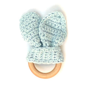 Baby teether blue