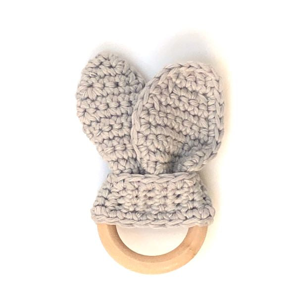 Baby teether grey