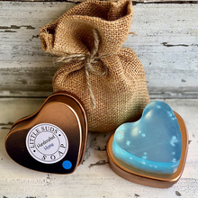 Load image into Gallery viewer, Tin heart soap Feeling beachy