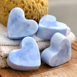 Tin heart soap Just chillin