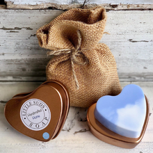 Load image into Gallery viewer, Tin heart soap Just chillin