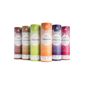 Eco-friendly natural deodorant range