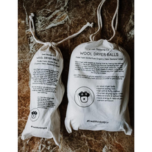 Load image into Gallery viewer, Eco-friendly wool dryer balls in bags