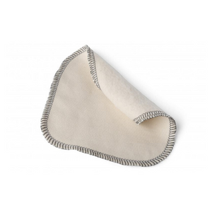 Reusable organic cotton baby wipe