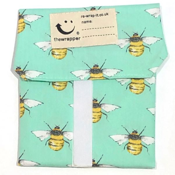 Bees sandwich wrapper