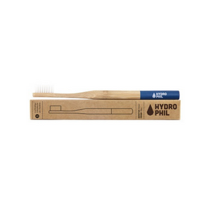 Hydrophil bamboo toothbrush eco-friendly blue