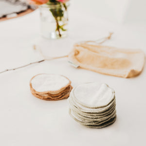 Eco-friendly bamboo make-up wipes
