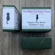 Load image into Gallery viewer, Eco-friendly Black Cat Soap House Soap bar Gardener's soap