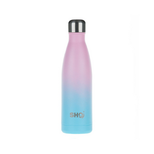 eco-friendly reusable 500 ml bottle deux pink