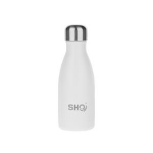 SHO eco-friendly reusable bottle ice white 260ml
