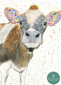 Clover Cow eco-card